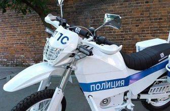 К ЧМ-2018 мотобат ГИБДД пересел на электробайки