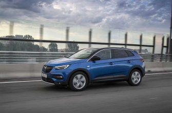 Opel рассказал, во сколько обойдется техобслуживание кроссовера Grandland X